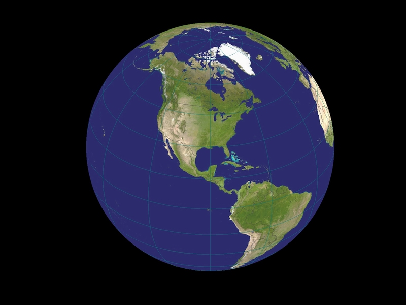 how to draw the earth from space