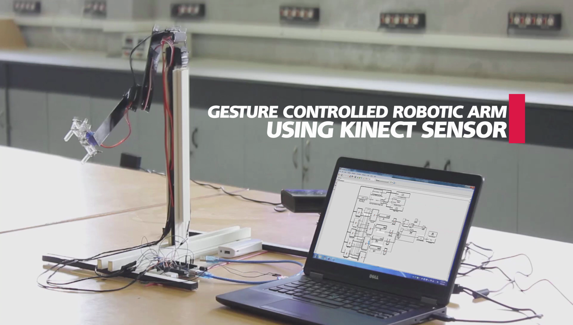 Gesture Controlled Robotic Arm Using Kinect Simulink Support For – Kinect Sensor Wiring Diagram