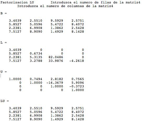 LU factorization algorithm - File Exchange - MATLAB Central