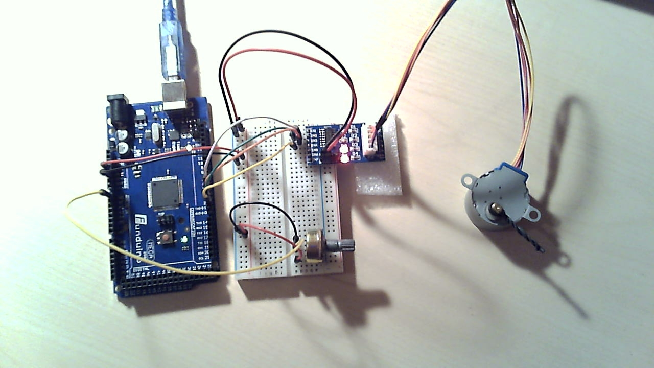 Stepper Motor Control With Arduino File Exchange