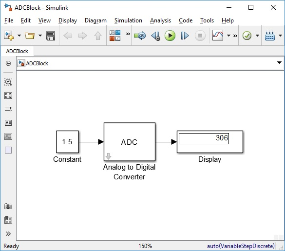 Analog To Digital Converter Block File Exchange Matlab Central