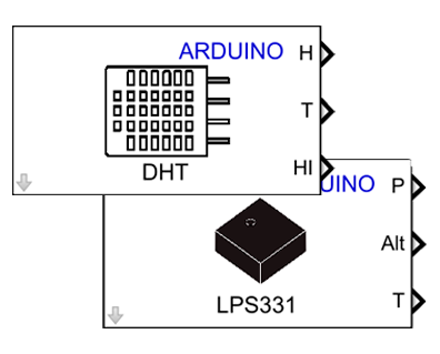 Arduino Additional Sensors Library (DHT, LPS331) - File