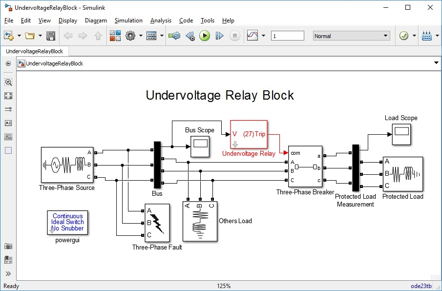 Undervoltage relay block file exchange matlab central image thumbnail ccuart Images