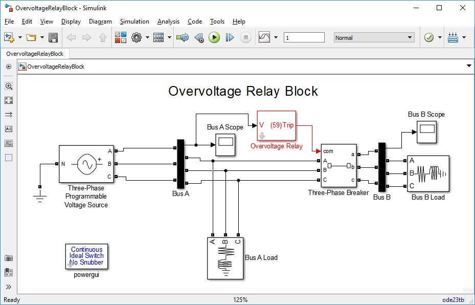 Overvoltage Relay Block - File Exchange - MATLAB Central
