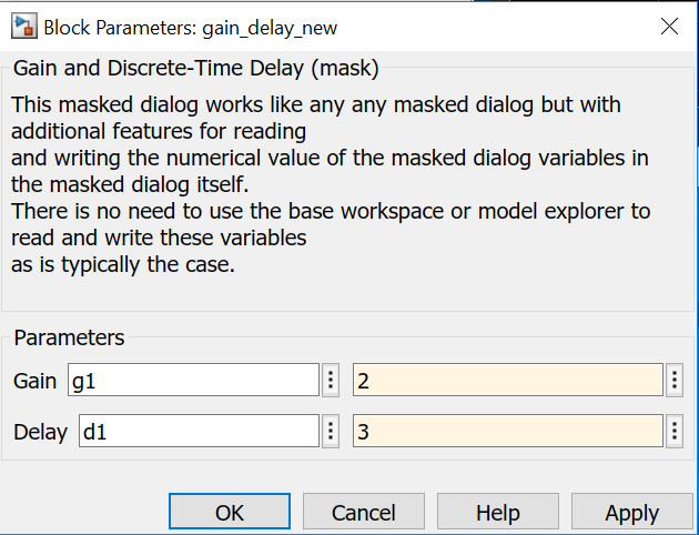 Easy Mask For Simulink File Exchange Matlab Central