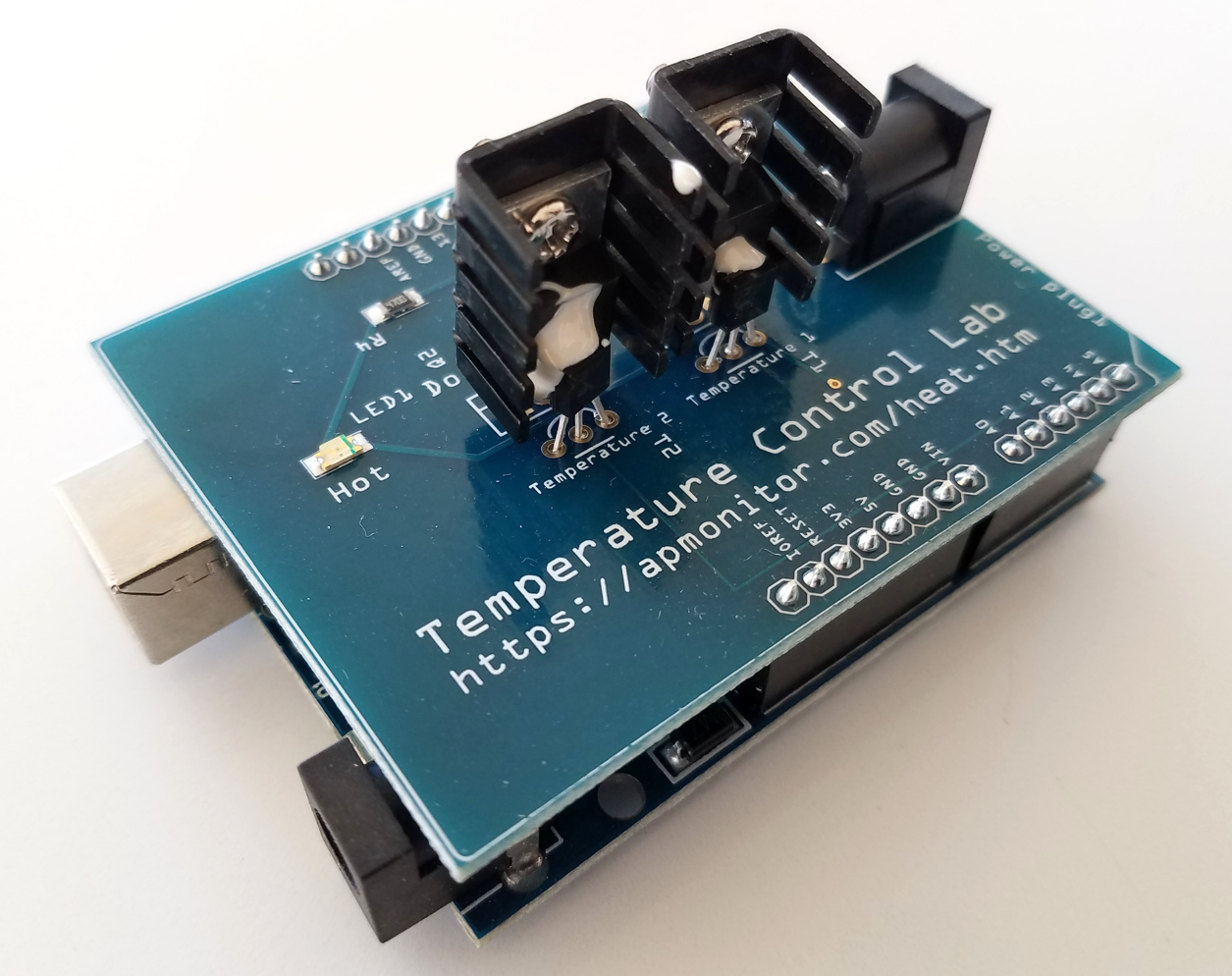 Arduino Temperature Control Lab for Simulink and MATLAB - File