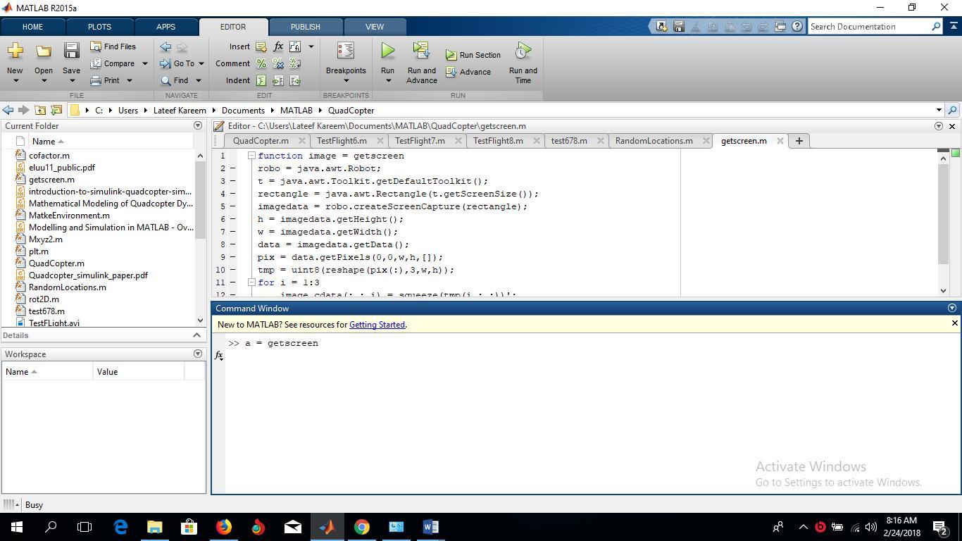 getscreen - File Exchange - MATLAB Central