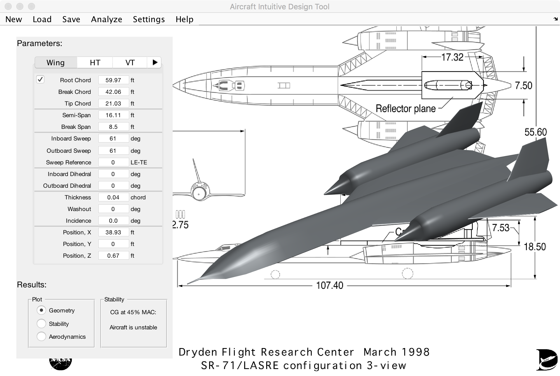 Aircraft Intuitive Design Aid File Exchange Matlab Central