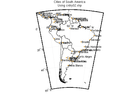 WORLDDATAMAP Examples - Usa rivers and lakes