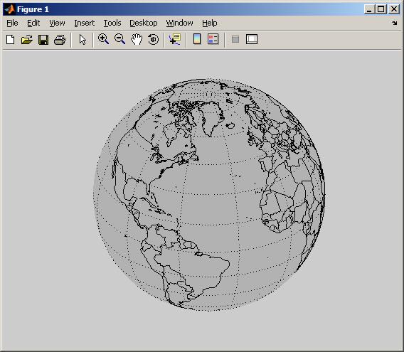 ezglobe easily plot a rotatable globe mapping toolbox 2 x