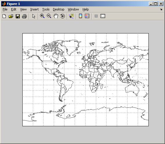 EZMILLER - easily plot a flat world map (Mapping Toolbox 2.x ... on