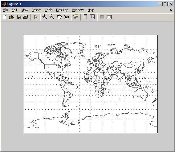 EZMILLER - easily plot a flat world map (Mapping Toolbox 2 x