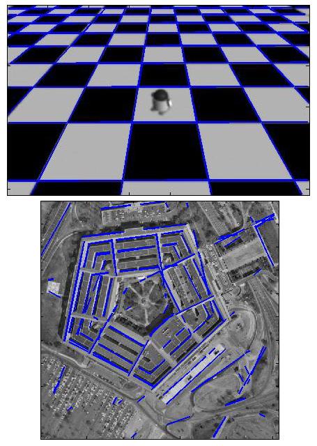 Simple shape detection using hough transform file exchange.