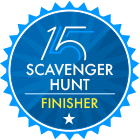 Scavenger Hunt Finisher