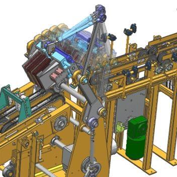NX Motion Control Simulation - Mechanism simulation allowing