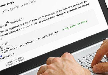 MATLAB Speaks Math