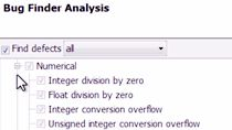 Identify software defects via static analysis using Polyspace Bug Finder .