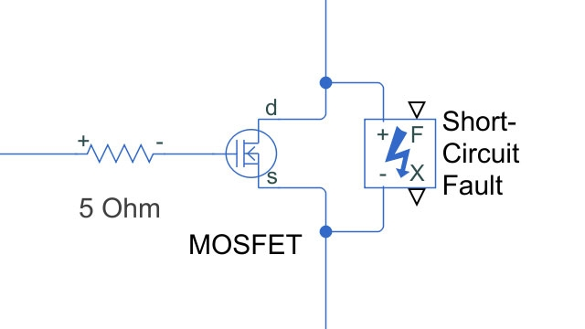 simscape electrical matlab simulink mosfet fault in buck converter