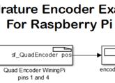 Raspberry Pi Quadrature Encoder SFunction - File Exchange