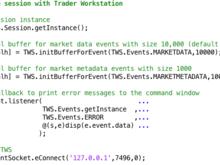 IB4m - Interactive Brokers API in MATLAB - File Exchange