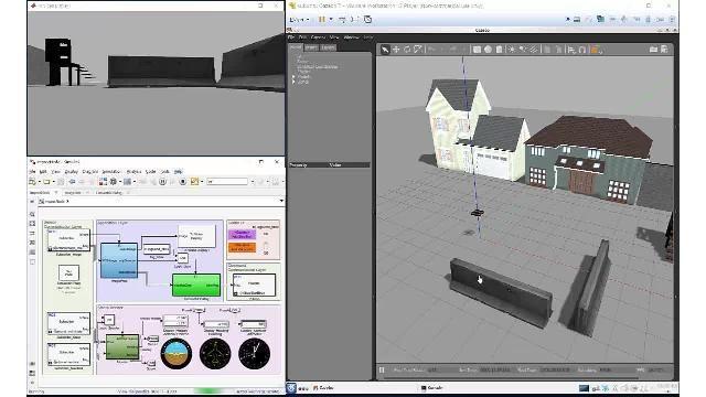Simulate and verify autonomous algorithms with Robotics System Toolbox, ROS Toolbox, and Gazebo