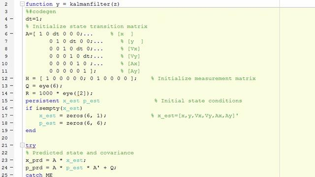 Generate readable and portable C and C++ code from MATLAB code, including over 1,200 functions used for applications ranging from image processing and computer vision to advanced DSP and communications systems development.