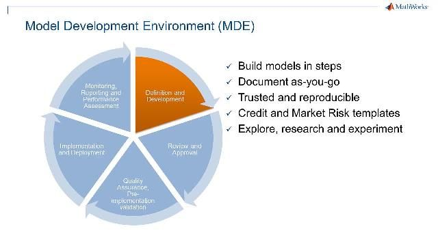 See how the model development environment (MDE) in MATLAB can help you improve the pace of model development by using the code templates and a model builder scriptlet.