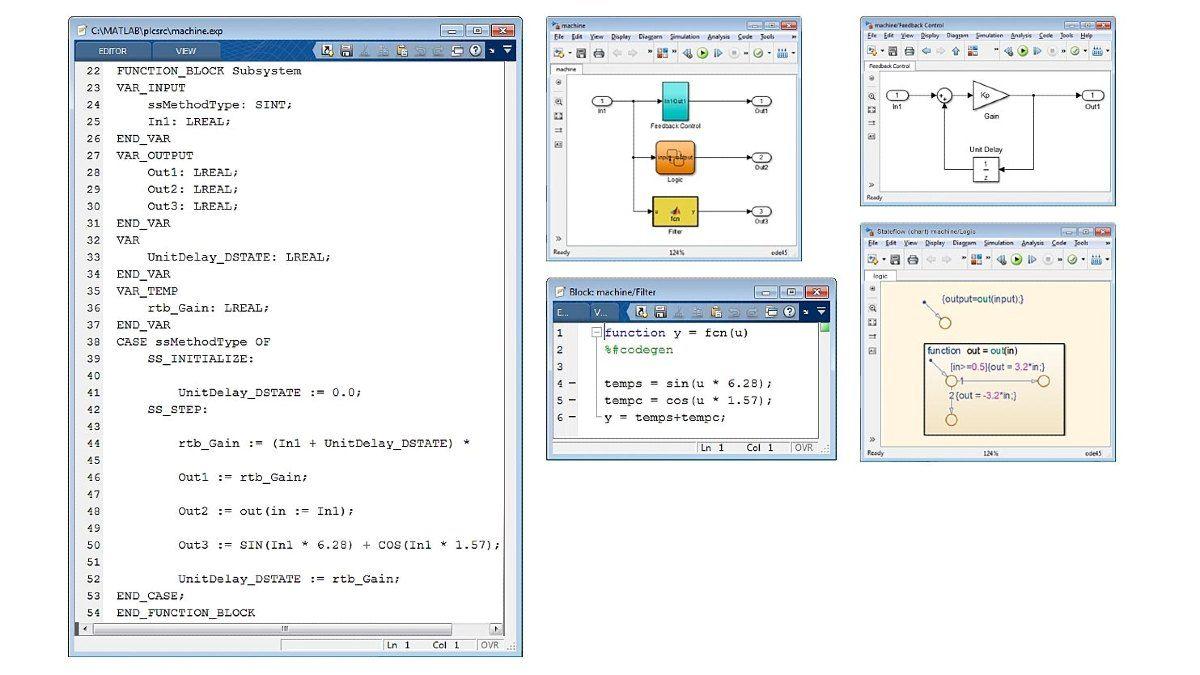 Simulink PLC Coder