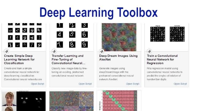 Create, analyze, and train deep learning networks using Deep Learning Toolbox.
