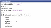 In the past we covered how to use UIGETFILE as an alternative to hardcoding the name of a file in your program. [click here] In this video, we will show how MATLAB can get a directory listing and use it to batch process the files in a directory.
