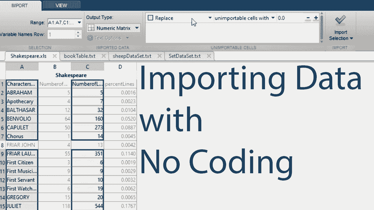 Learn how to import spreadsheet data using the Import Tool.