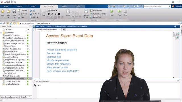 Walk through a demonstration that outlines how to import your data into MATLAB.