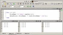 In this short video we will show how to bring text files into MATLAB and use the original file name as the variable name. Actually, the file name will be used as a field name in a structure. Some people would use the EVAL statement or ASSIGNIN to do