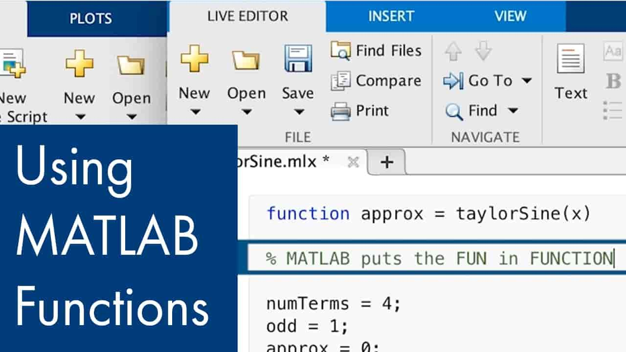 Learn what functions are in MATLAB.