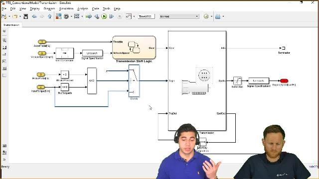Ed Marquez and Christoph Hahn from MathWorks show you how to create vehicle models with Powertrain Blockset for simulations of different powertrains to help you make informed decisions during the design process.