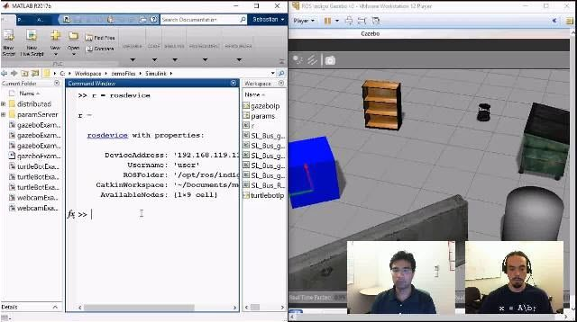 Join Sebastian Castro and Pulkit Kapur as they show how automatic code generation tools can help you deploy algorithms developed in MATLAB and Simulink to run in the Robot Operating System (ROS).