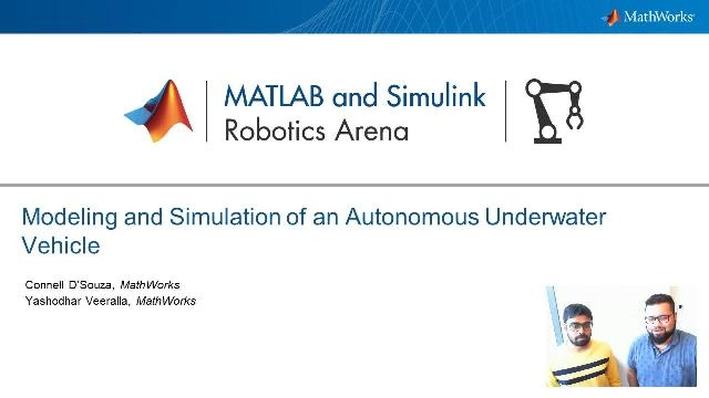 Yashodhar Veeralla of the Engineering Development Group at MathWorks joins Connell D'Souza to talk about using Aerospace Blockset for Model-Based Design, as well as simulation and control of an autonomous underwater vehicle (AUV).