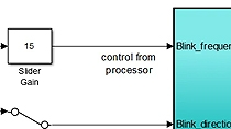 Use basic Simulink models and examine system partitioning between the programmable logic and processing system on Zynq. Explore the Simulink model and simulate the example system.