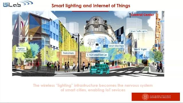 Measurement campaigns concerning the coverage of the LoRa technology in a real urban environment and description of a large-scale deployment of a smart lighting infrastructure in an Italian municipality.