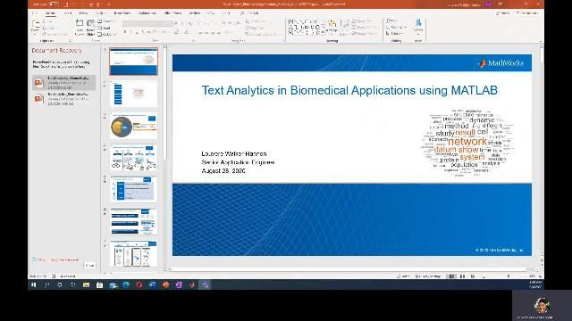 Discover the motivation behind using text analytics in biomedical applications and an overview of a typical text analytics workflow in MATLAB.