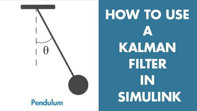 Estimate the angular position of a simple pendulum system using a Kalman filter in Simulink. You will learn how to configure Kalman filter block parameters such as the system model, initial state estimates, and noise characteristics.